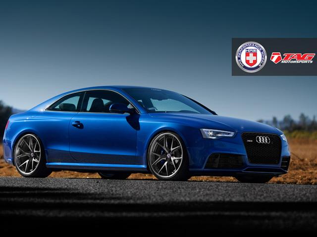 Тюнинг Audi RS5 от TAG и HRE