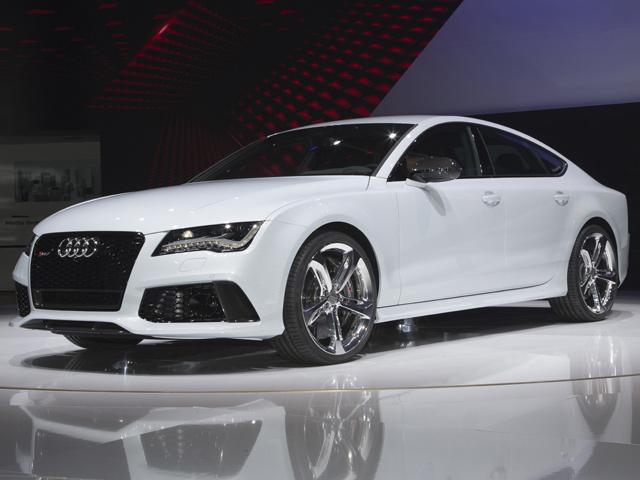Audi RS7 Sportback дебютировал в Детройте