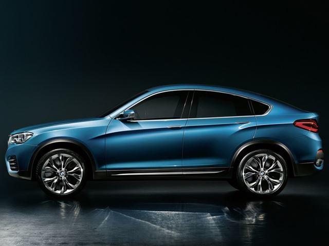 Первые официальные изображения BMW X4