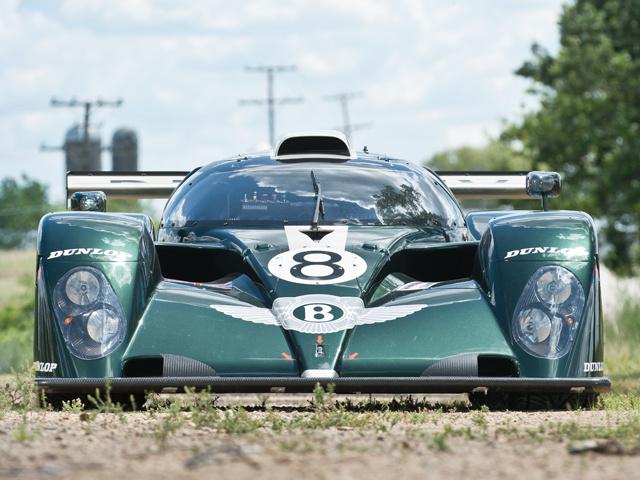 Прототип Bentley Speed 8 после участия в первенстве Le Man пойдет с молотка