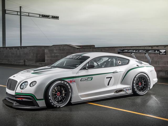 Гоночный коцепт-кар Bentley Continental GT3 дебютирует в Париже