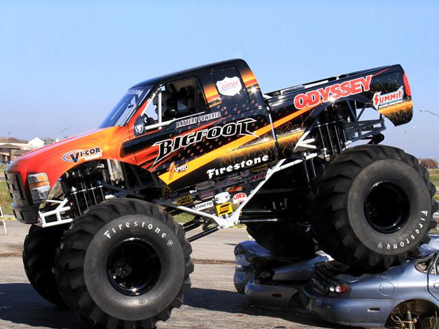Bigfoot Monster-truck с электродвигателем