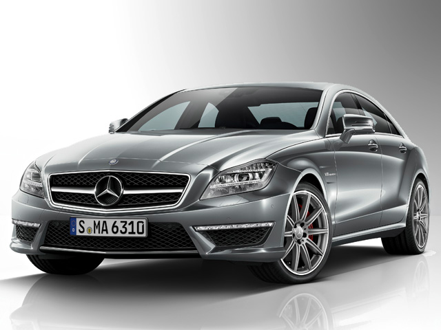 Обновленный Mercedes CLS63 AMG