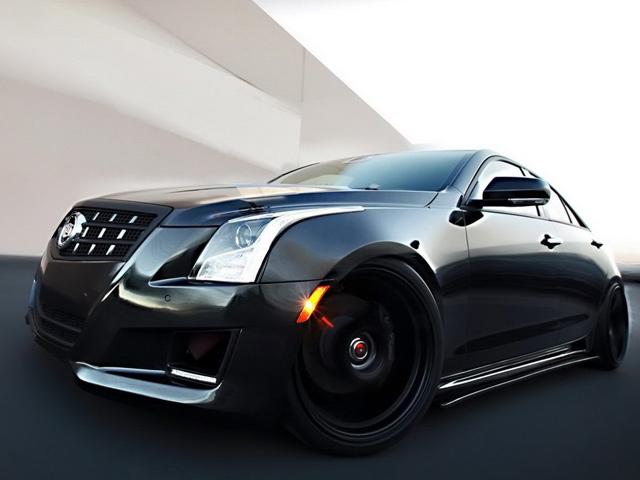 Cadillac ATS от тюнинг-ателье D3 Group