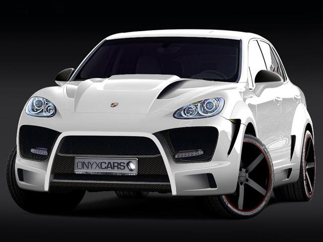 Porsche Cayenne OTS от тюнинг-ателье Onyx Concept