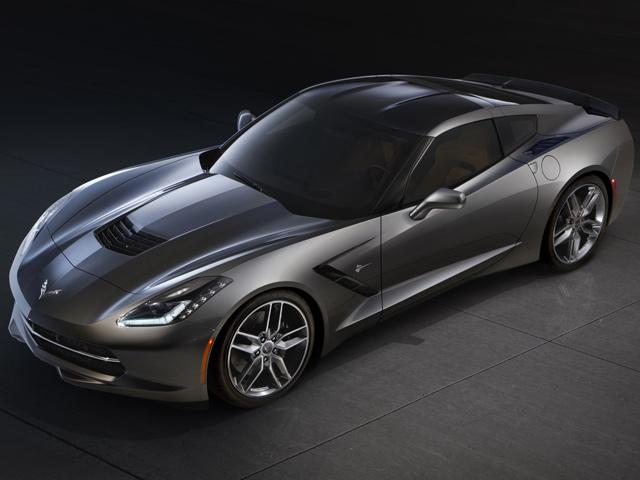 Первый Chevrolet Corvette Stingray выходит в эфир