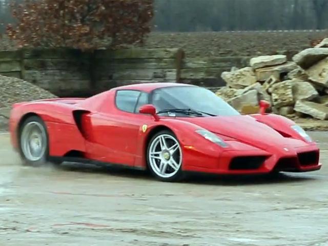 Ралли на Ferrari Enzo