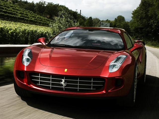 Ferrari Quattroporte - концептуальные рендеры