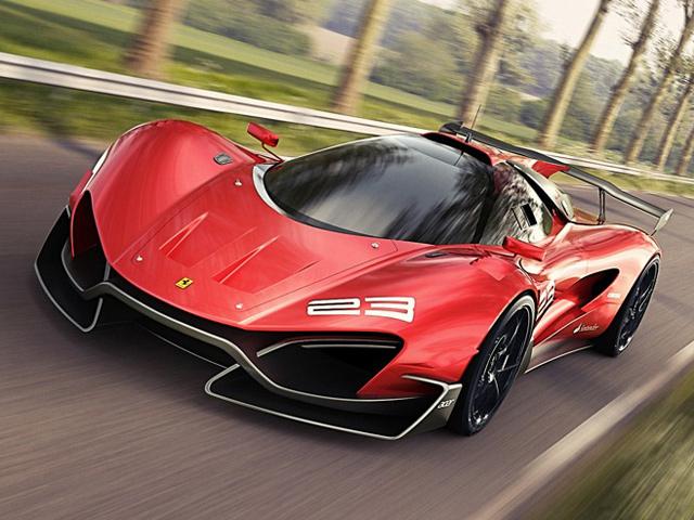 Ferrari Xezri Competizione Edition от Самира Садихова