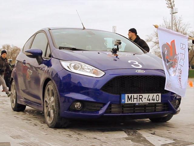 Кен Блок катает фанатов в Ford Fiesta ST