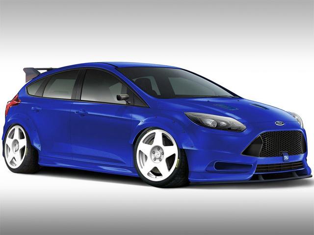 Ford Focus ST TrackSTer от тюнинг-ателье fifteen52