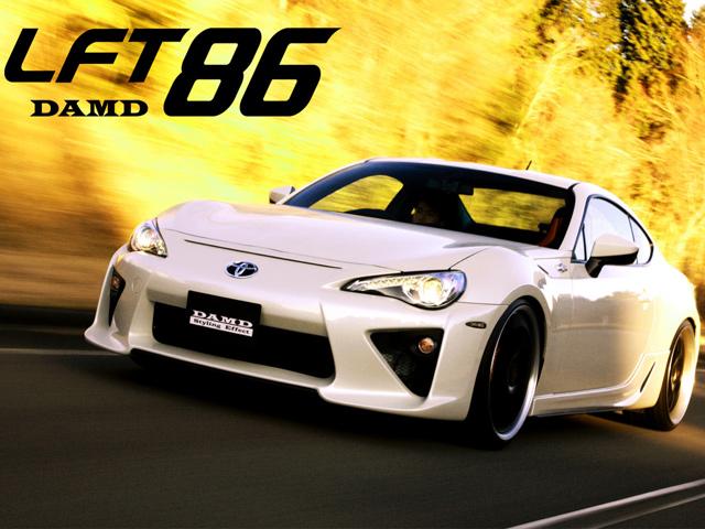 DAMD сделал обвес LF-A для Toyota GT86