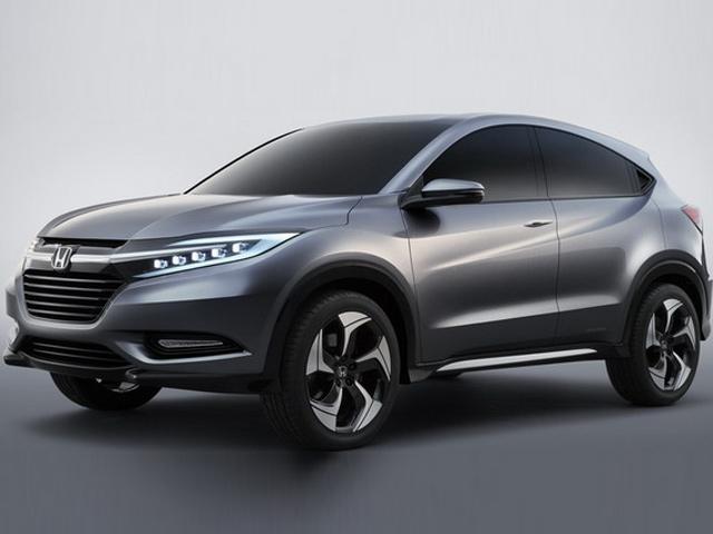 Honda представит концепт городского внедорожника