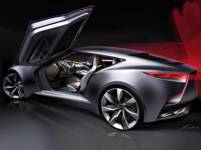 Hyundai представит новый Genesis Coupe HND-9