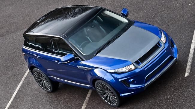 Тюнинг Range Rover Evoque Imperial Blue от A. Kahn Design