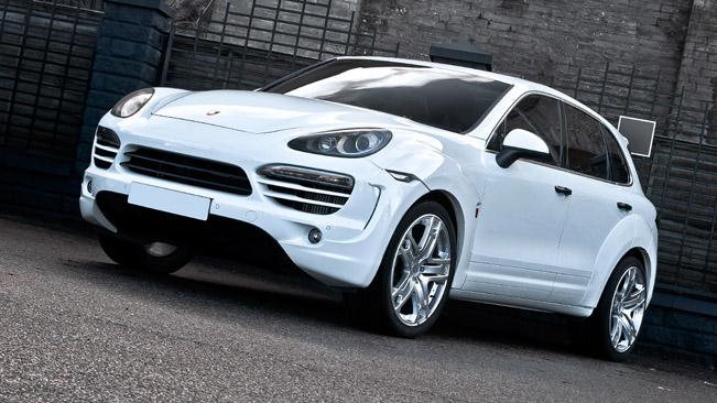 Porsche Cayenne Supersport от тюнинг-ателье A. Kahn Design