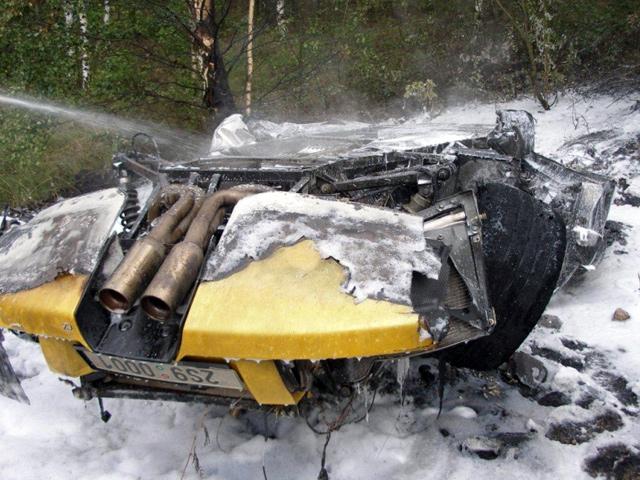 Пять нелепых аварий с Lamborghini
