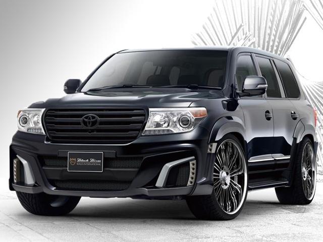 Тюнинг Toyota Land Cruiser Black Bison от Wald Int'l