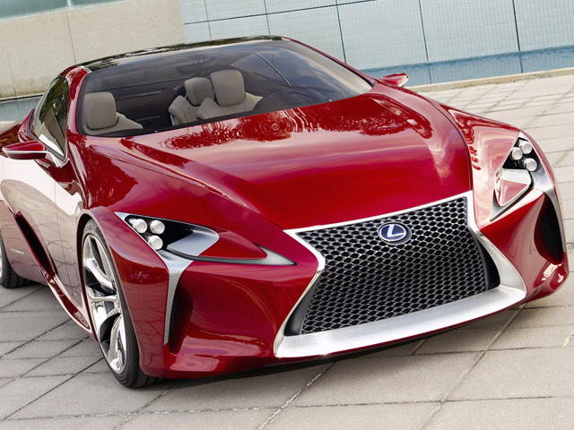 Чудеса случаются - Lexus LF-LC
