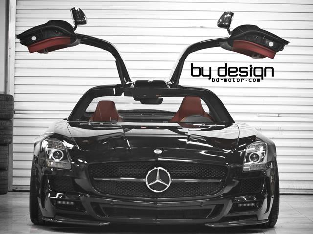 By Design поработали над Mercedes SLS AMG