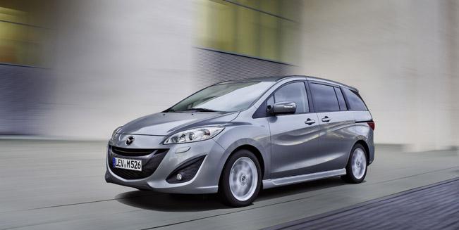 Mazda представила Mazda5 Facelift