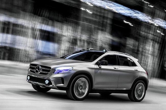 Концепт Mercedes Benz GLA