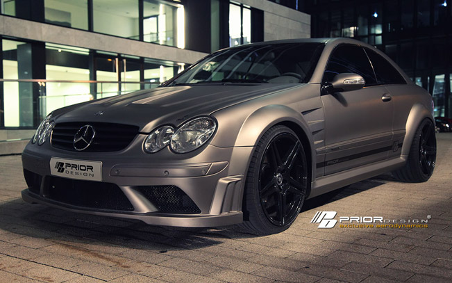 Mercedes Benz CLK от тюнинг-ателье Prior Design