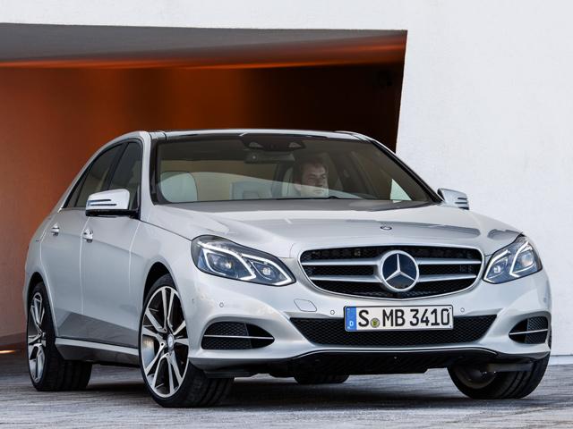 Официальный релиз Mercedes E-Class 2014