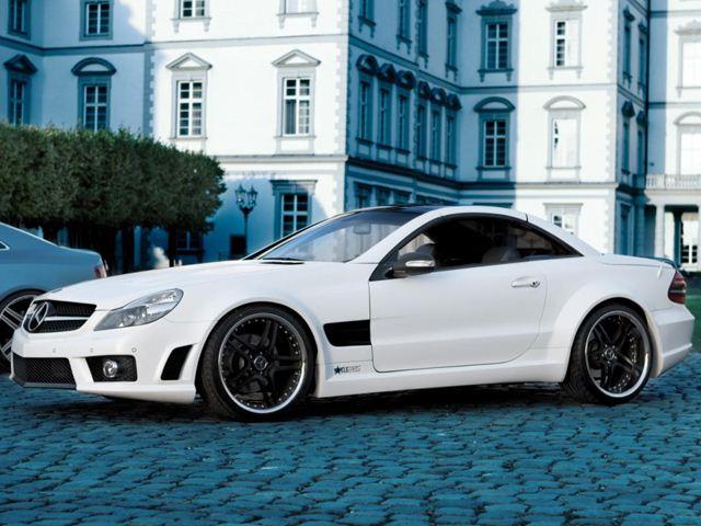 Mercedes SL500 от тюнинг-ателье Famous Parts