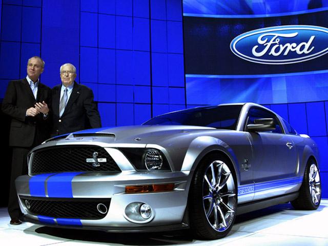 Shelby Ford Mustang покажут в Детройте