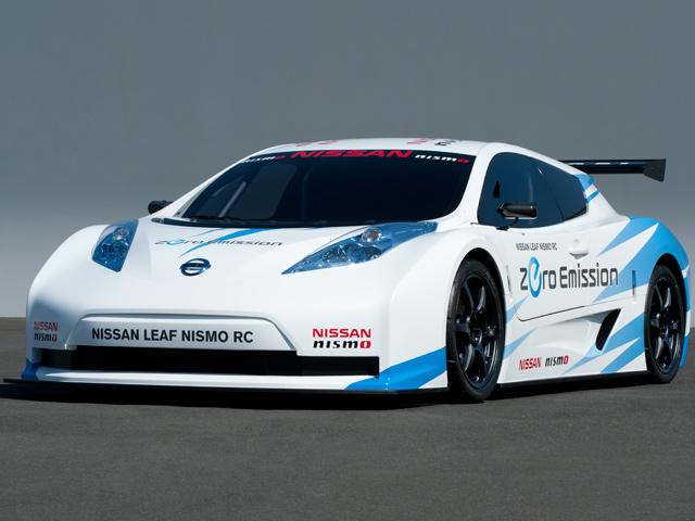 Nissan готовится к производству Leaf Nismo