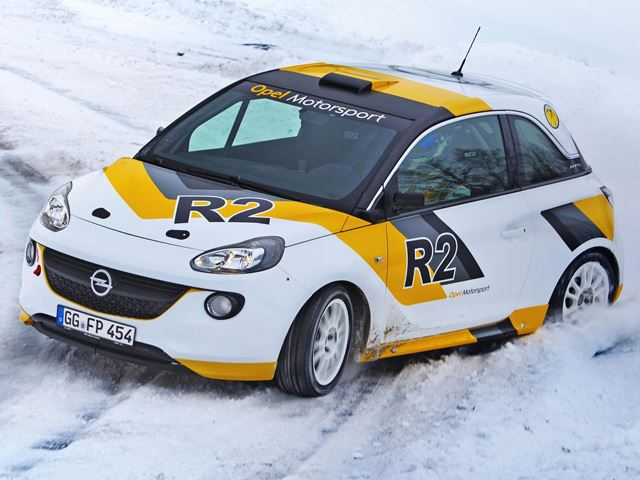 Ралли на Opel Adam R2