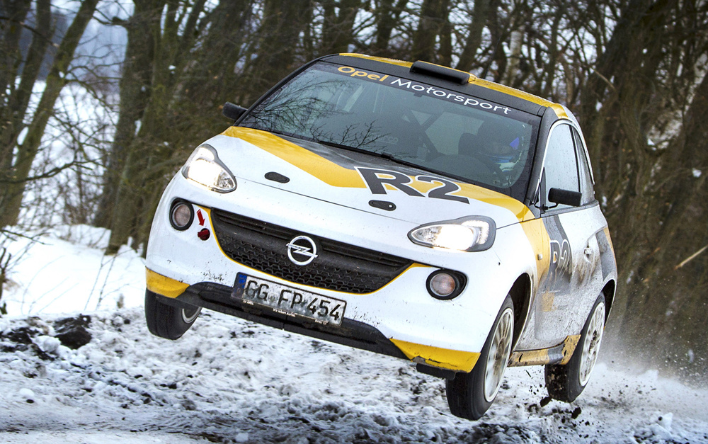 Opel Adam R2 Rally Car дебютирует в Женеве