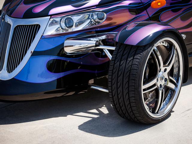 Plymouth Prowler тюнинг от Titan Motorsports