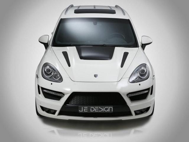 Porsche Cayenne Progressor - новый обвес от JE Design