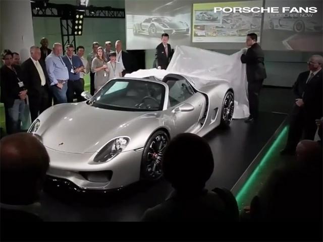 Porsche 918 2014 - предсерийный образец?