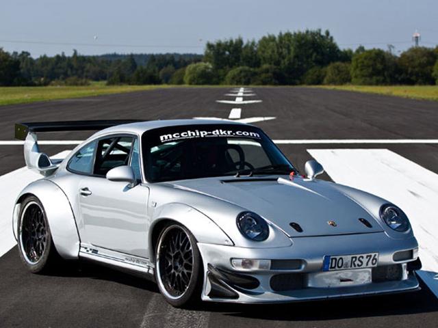 Porsche 993  от тюнинг-ателье Mcchip-DKR