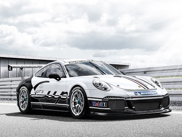 Porsche представляет новый GT3 Cup Racer