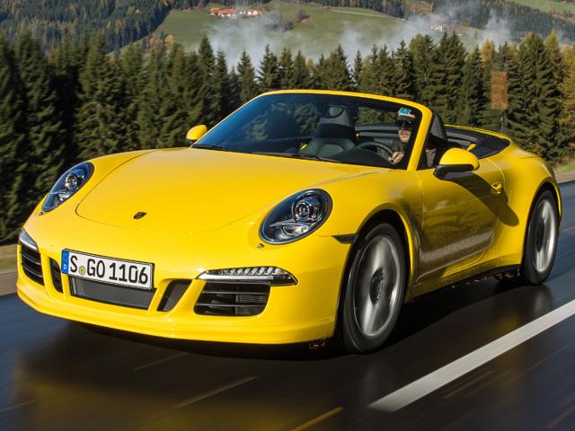 Porsche создает погоду для Carrrera 4
