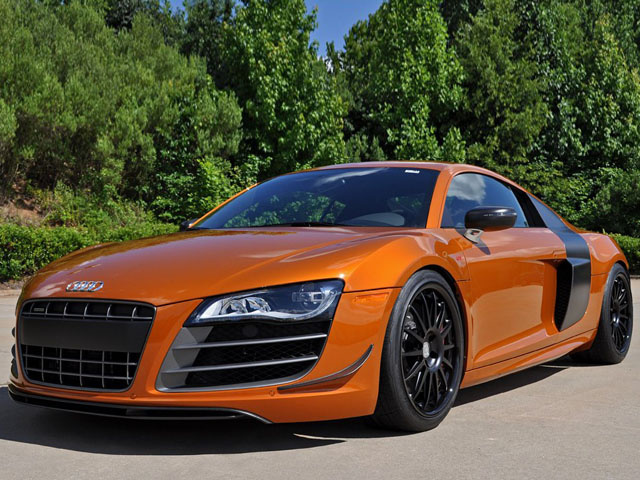 Невероятный Audi R8 GT мощностью 1000 л.с.