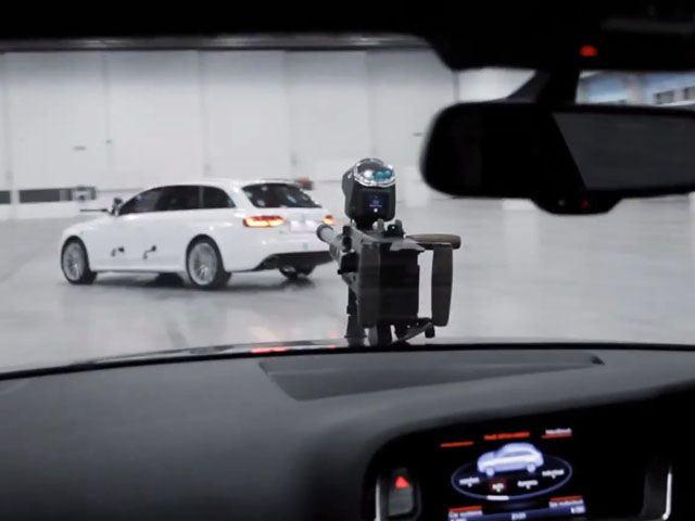 Audi RS4 пейнтболл