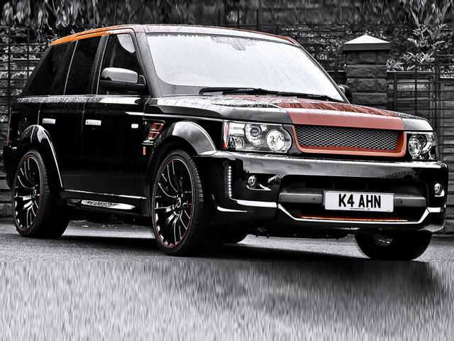 Range Rover Sport Vesuvius от тюнинг-ателье Kahn