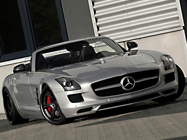 700-сильный Mercedes Benz SLS от тюнинг-ателье Wheelsandmore