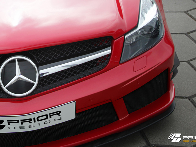 Mercedes SL Black Edition от Prior