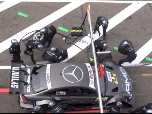 Инцидент во время гонок DTM