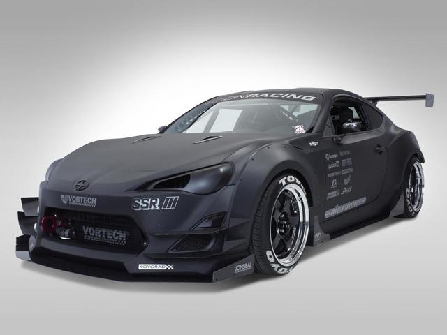 Scion представил 7 вариантов FR-S