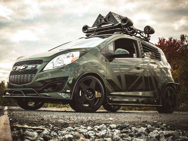 Chevy Spark от Enemy To Fashion