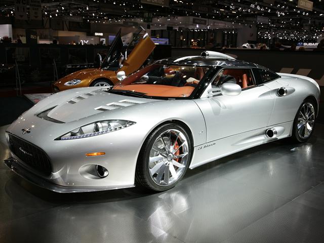 Соперник Porsche 911-ого от Spyker будет представлен в Женеве