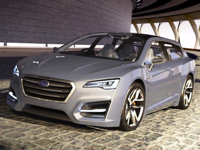 Subaru представит свой первый гибрид