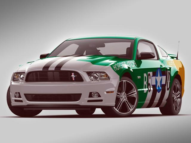 Mustang Track Fighter готов к SEMA